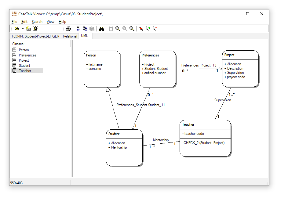 Viewer-UML